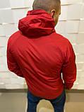 Мужская ветровка красная UNDER ARMOUR (реплика), фото 2