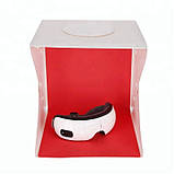 Световой лайтбокс LightRoom для предметной съемки в форме короба с Led подсветкой и 4 фонами 30x30x32 см, фото 6