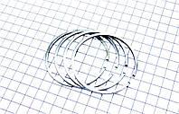 Кольца поршневые на мотоцикл Юпитер 2р.