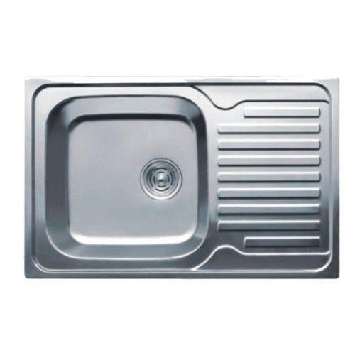 Мойка кухонная HAIBA 78x50 (decor) (HB0648)