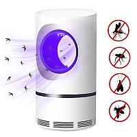 Уничтожитель комаров и насекомых Mosquito Killer JB-666 Лампа ловушка от USB