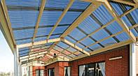 Профилированный поликарбонат для крыши и навесов