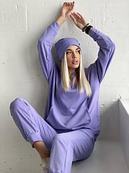 Женский спортивный костюм  тройка  КРю