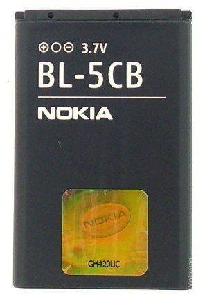 Аккумулятор (Батарея)  Nokia C1-02 BL-5CB (850 mAh) Оригинал, фото 2