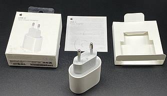 Адаптер питания USB-C 18 Вт iPhone Быстрая Зарядка для айфон 11 12 pro mini