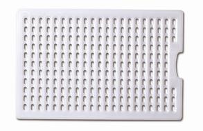 Сушка для емкостей прямоугольная 41.6х26.2х1см из полиэтелена Araven