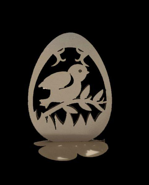 Заготовка пасхальное яйцо  Д 9  (5 шт)