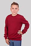 Стильный хлопковый джемпер оригинальной вязки для мальчика 122-152р, фото 2