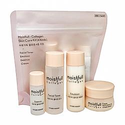 Набор миниатюр с коллагеном Etude House Moistfull Collagen Skin Care Kit