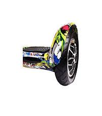 Гироскутер Гироборд гіроскутер гіроборд bluetooth Smart Balance  Колеса 10 дюймов Самобаланс Желтый Хип-Хоп, фото 3