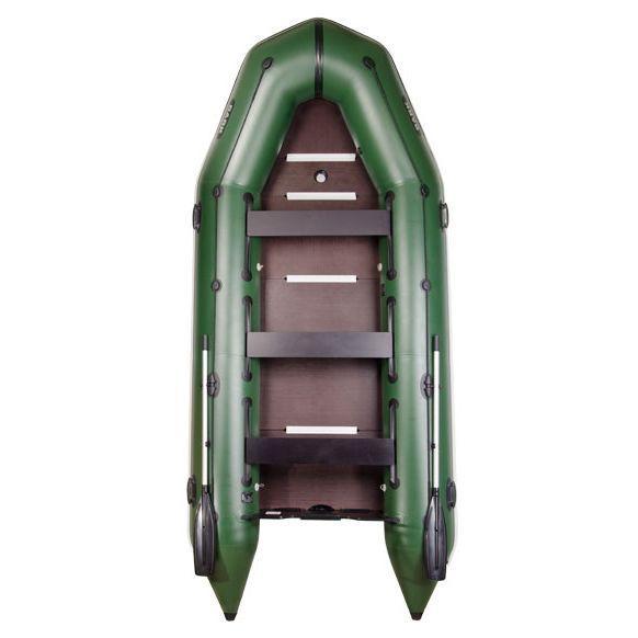 BARK BТ-420S Надувная универсальная восьмиместная моторная  ПВХ лодка Барк