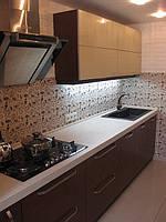 Кухня со шпонированным МДФ