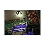 Электрическая мухоловка Deluxe akl 12Вт.Высококачественный отпугиватель мух,комаров,мошки,моли.Работает без использования химикатов!Ультрафиолетовый свет привлекает насекомых и они погибают от электрического заряда от сетки расположенной напротив.