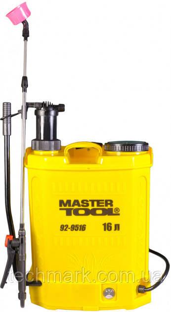 Опрыскиватель аккумуляторный Mastertool комбинированный 16 л (92-9516)