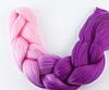 Коса для плетения канеколон двухцветный
