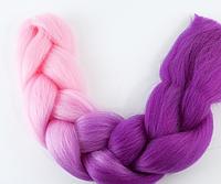 Коса для плетения канеколон двухцветный, фото 1