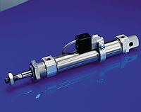 Цилиндр пневматический Rexroth, серии MINI, диаметр поршня 25 мм, ход 80 мм