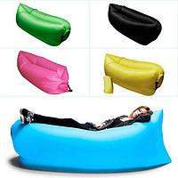 Надувной диван гамак Lamzaс, гамак кресло, шезлонг ламзак, надувной матрас, пляжный надувной шезлонг, хороший