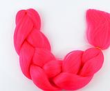 Коса для плетения канеколон однотонный, фото 3
