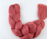 Коса для плетения канеколон однотонный, фото 4