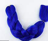 Коса для плетения канеколон однотонный, фото 5