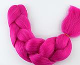 Коса для плетения канеколон однотонный, фото 6