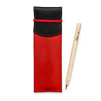 Чехол для ручек BlankNote 1.0 Графит-клубника (+эко-ручка и карандаш)