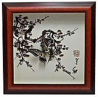 Бабочки в рамке Arjuna 30х30х3 см 26049, КОД: 1728615