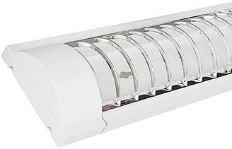 Светильник люминесцентный Lumen ZCFEMCWA 40W 12 Т 8 G 13 40 Вт СД01325, КОД: 1710860