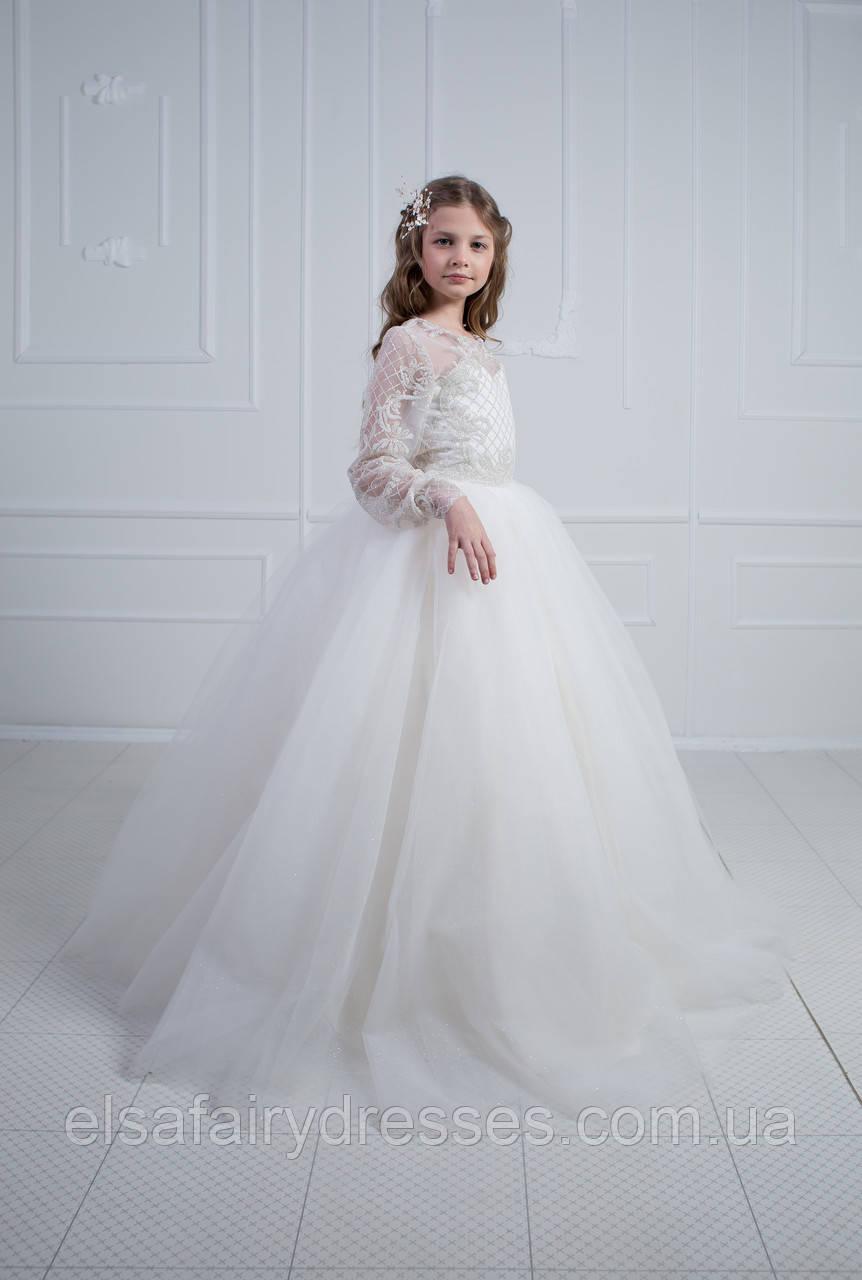 Дитяча сукня 👑PRINCESS 2👑 со шлейфом нарядное платье