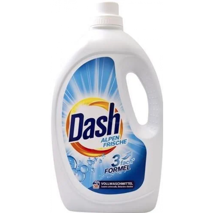 Гель для прання DASH Alpen Frische універсальний 2.75 л 50 прань
