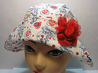 Шляпа с цветком