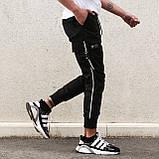 """Чоловічі штани-карго """"Fujin"""" від бренду """"TUR"""", фото 4"""