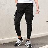 """Чоловічі штани-карго """"Fujin"""" від бренду """"TUR"""", фото 6"""