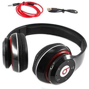 Навушники безпровідні Bluetooth ST-409 MicroSD, чорні