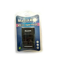 З/у Mastsk MTL-123 для CR123/CR2 с автоадаптером