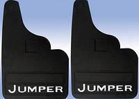 Citroen Jumper 1995-2006 рр. Бризковики прямі (2шт)