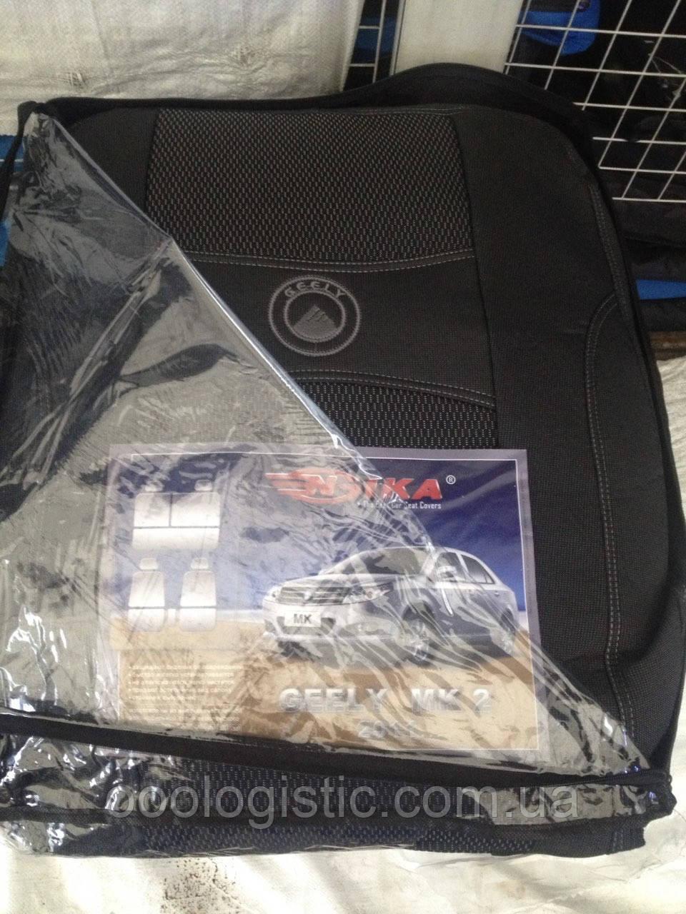 Авточехлы на Geely MK2 от 2011 года Nika, Джили Мк 2