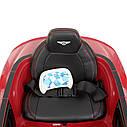Дитячий електромобіль M 4010 EBLR-1, Mercedes-Benz AMG C63S, шкіряне сидіння, колеса EVA, білий, фото 7