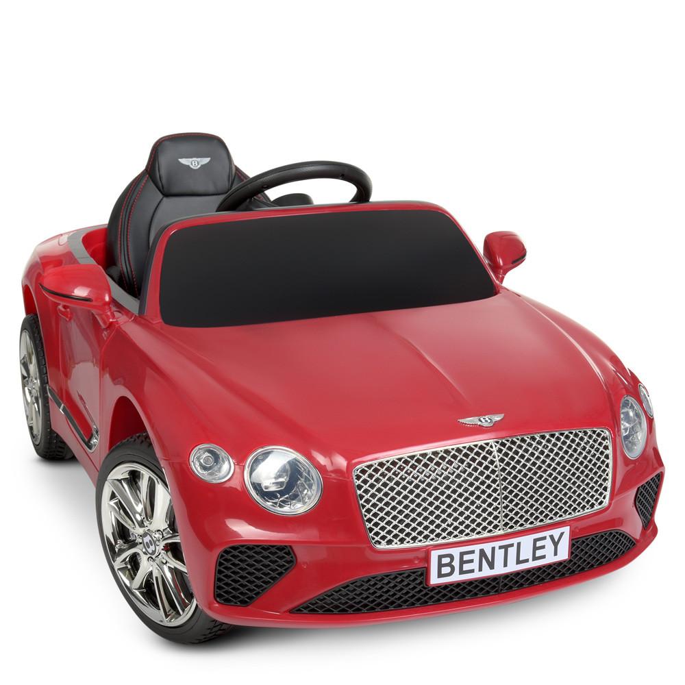 Дитячий електромобіль M 4010 EBLR-1, Mercedes-Benz AMG C63S, шкіряне сидіння, колеса EVA, білий