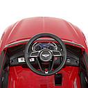 Дитячий електромобіль M 4010 EBLR-1, Mercedes-Benz AMG C63S, шкіряне сидіння, колеса EVA, білий, фото 3