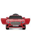 Дитячий електромобіль M 4010 EBLR-1, Mercedes-Benz AMG C63S, шкіряне сидіння, колеса EVA, білий, фото 2