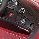 Дитячий електромобіль M 4010 EBLR-1, Mercedes-Benz AMG C63S, шкіряне сидіння, колеса EVA, білий, фото 5