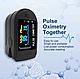 Цифровой пульсоксиметр. Прибор для измерения уровня кислорода в крови., фото 2
