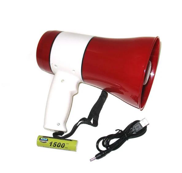 Мегафон рупор громкоговоритель UKC ER-22