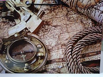 Чоловік Подарунковий Пакет Ггант з малюнком морську подорож 46 на 33 см 1 шт
