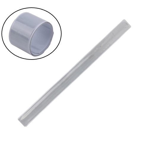 Лента светоотражающая, фликер, магнитный браслет на руку ногу 30 см