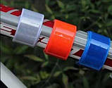 Лента светоотражающая, фликер, магнитный браслет на руку ногу 30 см, фото 2