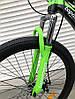 ✅ Двухподвесный Горный Велосипед TopRider 910 ALUXX 26 ДЮЙМ Стальная Рама 17 Черно-Зеленый, фото 3