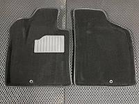 Hyundai Santa Fe 2 2006-2012 гг. Текстильные коврики салона 3D (Seintex)
